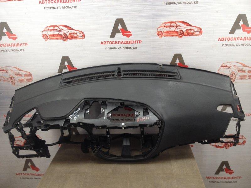 Торпедо - передняя панель салона Hyundai Tucson (2015-Н.в.)