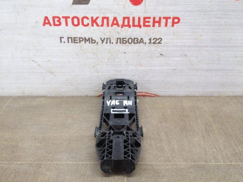 Ручка двери наружная - каркас Skoda Yeti (2009-2018) передняя правая