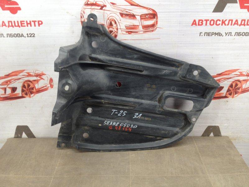 Пыльник бампера заднего Toyota Avensis (T25_) 2003-2009 левый