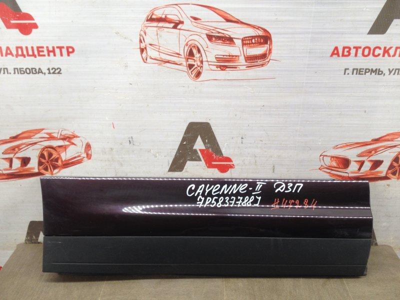Накладка двери задней правой Porsche Cayenne (2010-2018)