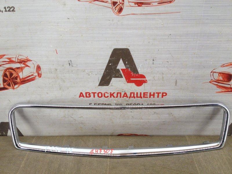 Решетка радиатора - молдинг Chevrolet Aveo 2002-2011 2007 верхняя