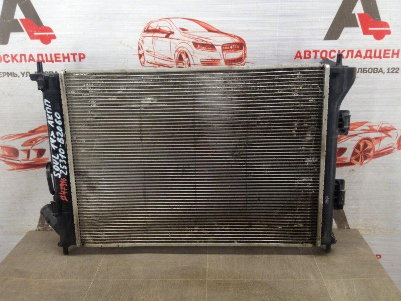 Радиатор охлаждения двигателя Kia Soul (2014-2019)