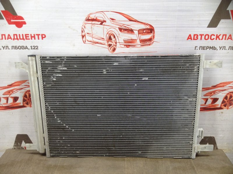 Конденсер (радиатор кондиционера) Seat Leon (2012-2015)
