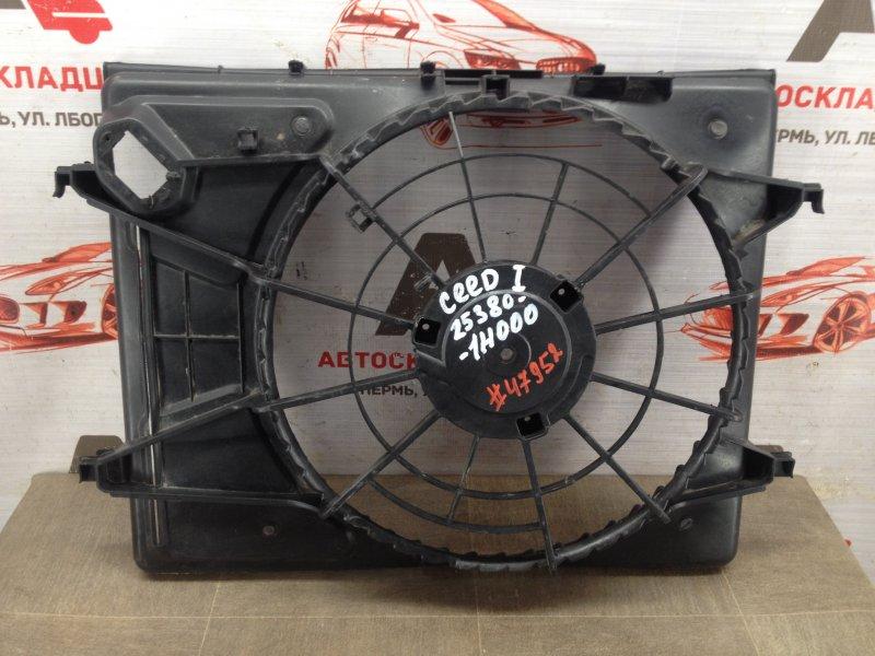 Диффузор радиатора охлаждения - рамка вентиляторов Kia Ceed (2006-2012)