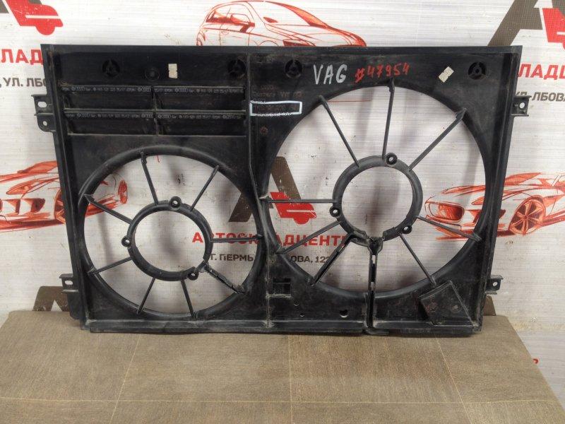 Диффузор радиатора охлаждения - рамка вентиляторов Audi A3 (2003-2013)