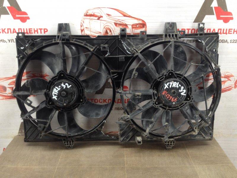 Диффузор радиатора охлаждения - в сборе Nissan X-Trail (2014-Н.в.)