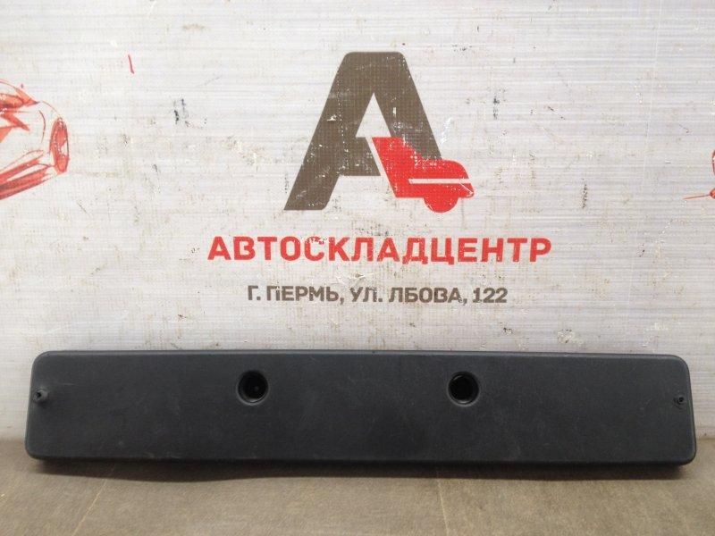 Планка (рамка) номерного знака Hyundai Santa-Fe (2006-2012) 2009