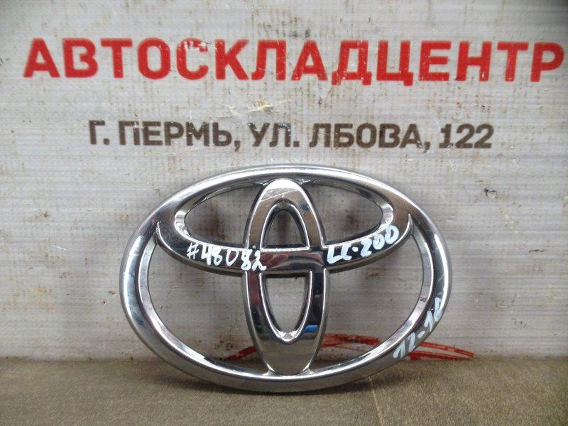 Эмблема (значок) Toyota Land Cruiser 200 (2007-Н.в.) 2011 передняя