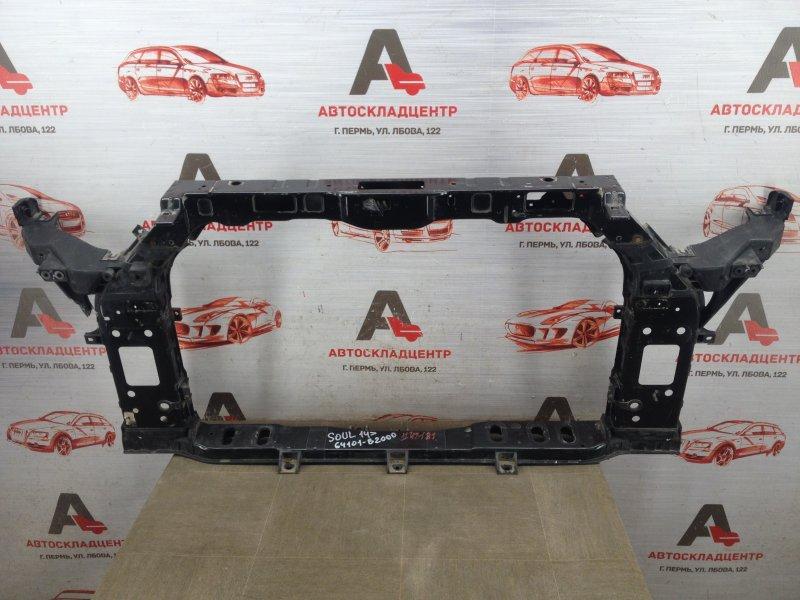 Панель передка (телевизор) - рамка радиатора Kia Soul (2014-2019)