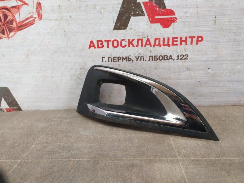 Накладка противотуманной фары / ходового огня Peugeot 3008 (2016-Н.в.) правая
