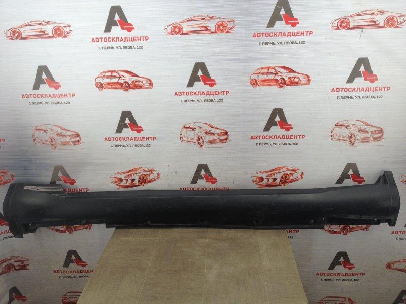 Накладка порога кузова - наружная облицовка Infiniti Fx-Series / Qx70 (S51) 2008-2019 левая