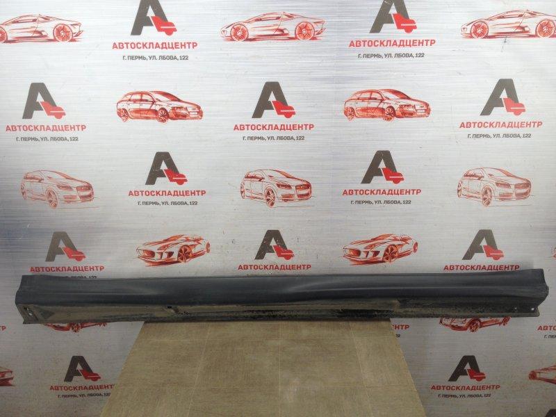 Накладка порога кузова - наружная облицовка Mitsubishi Asx (2010-Н.в.) правая
