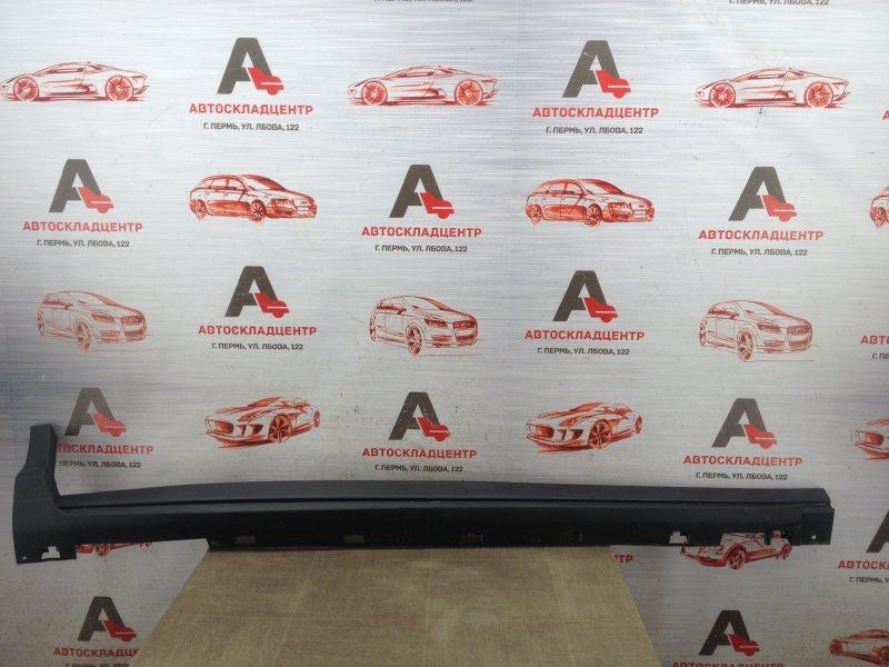 Накладка порога кузова - наружная облицовка Ford Kuga 2011-2019 правая