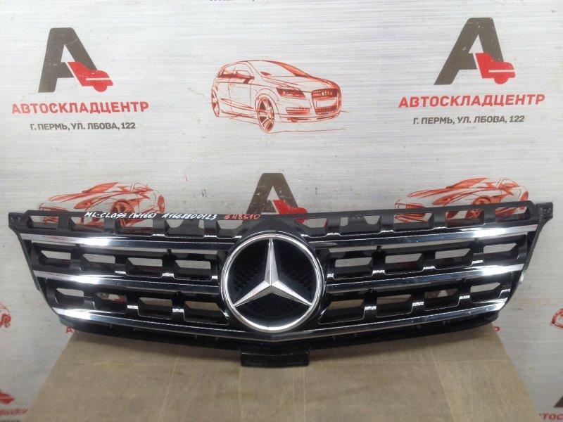 Решетка радиатора Mercedes M (Ml)-Klasse (W166) 2011-2015