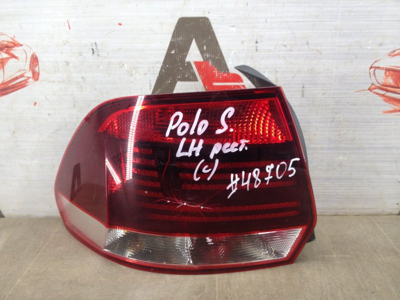 Фонарь левый Volkswagen Polo (Mk5) Седан 2010-2020 2015