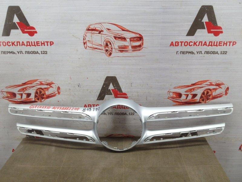 Решетка радиатора - молдинг Mercedes Glc-Klasse (W253) 2015-Н.в. 2015