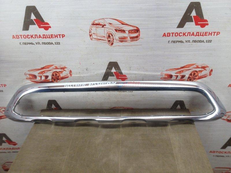Решетка бампера переднего - молдинг Mercedes Glc Coupe (X253) 2015-Н.в. 2016