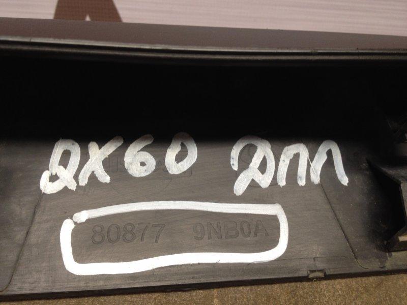 Накладка двери передней левой Infiniti Jx / Qx60 (2012-Н.в.)