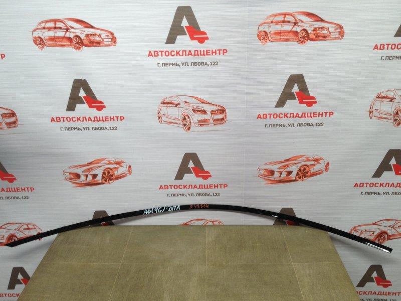Молдинг рамки двери Audi A6 (C7) 2010-2018 передний левый