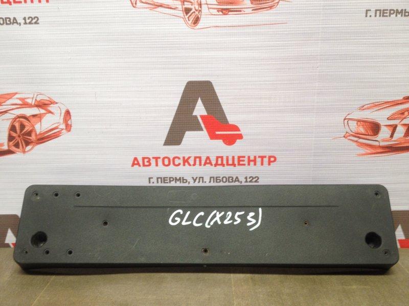 Планка (рамка) номерного знака Mercedes Glc-Klasse (W253) 2015-Н.в.