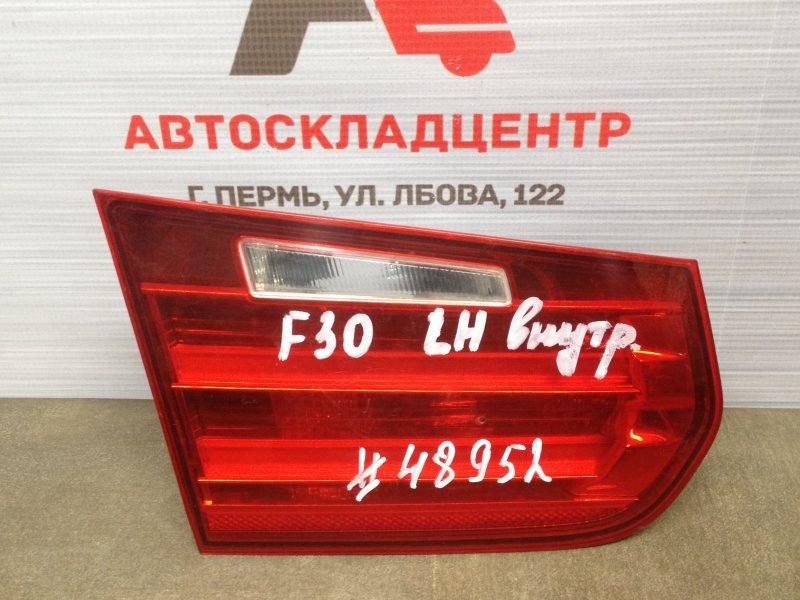 Фонарь левый - вставка в дверь / крышку багажника Bmw 3-Series (F30/31) 2011-2019 2011