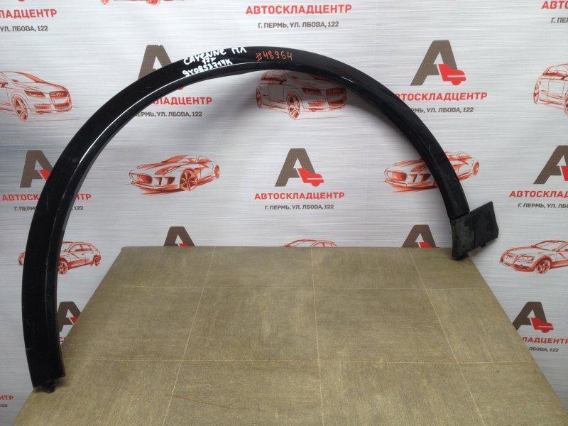 Накладка ( расширитель ) арки крыла - перед слева Porsche Cayenne (2017-Н.в.)