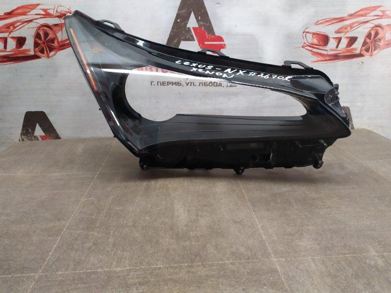 Фара - стекло Lexus Nx -Series 2014-Н.в. правая
