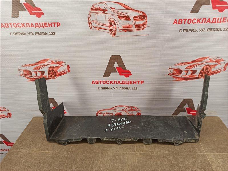 Дефлектор воздушного потока основного радиатора Chevrolet Aveo 2012-2015 нижний