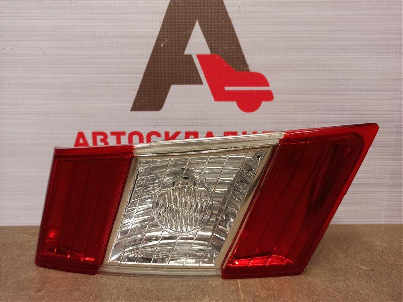Фонарь левый - вставка в дверь / крышку багажника Chevrolet Epica 2009