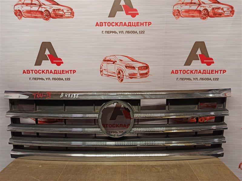 Решетка радиатора Volkswagen Touareg (2018 - Н.в.)