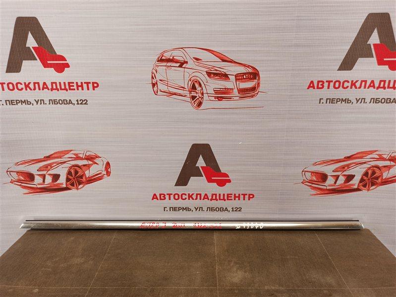 Молдинг-уплотнитель стекла двери (бархотка) Opel Astra - J (2009-2015) задний правый