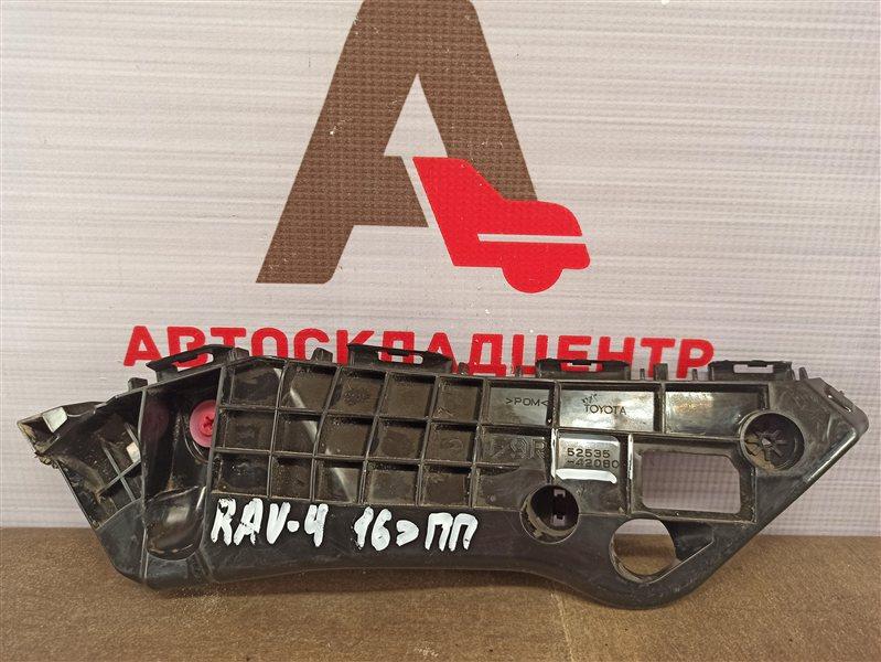 Кронштейн бампера переднего боковой Toyota Rav-4 (Xa40) 2012-2019 2015 правый