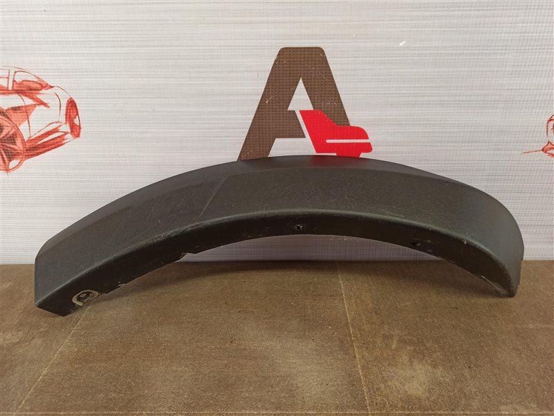 Накладка ( расширитель ) арки крыла на бампер - сзади слева Renault Logan (2014-Н.в.)