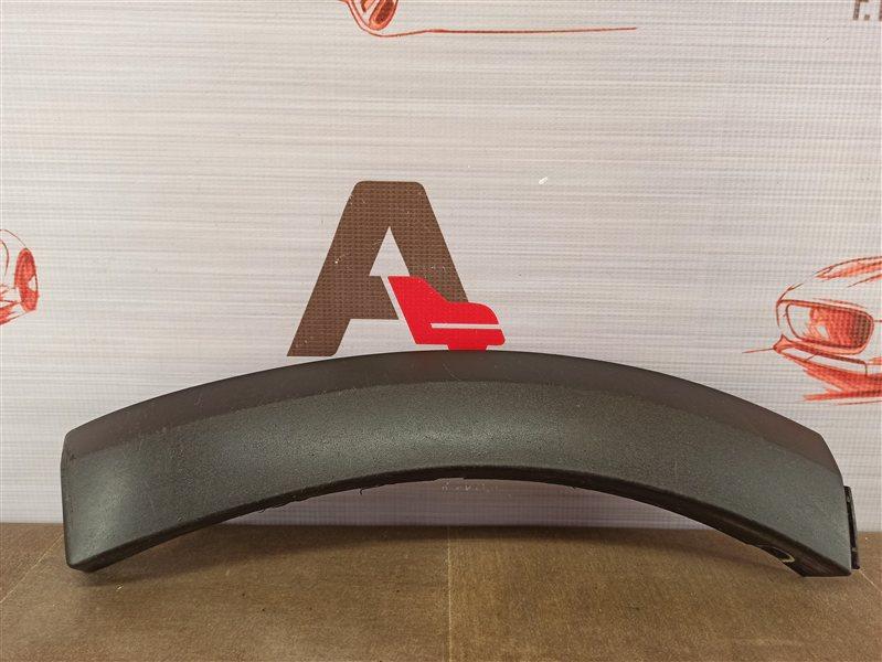 Накладка ( расширитель ) арки крыла на бампер - перед слева Renault Logan (2014-Н.в.)