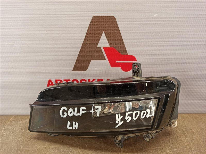 Фара противотуманная / дхо Volkswagen Golf (Mk7) 2012-2019 2012 левая
