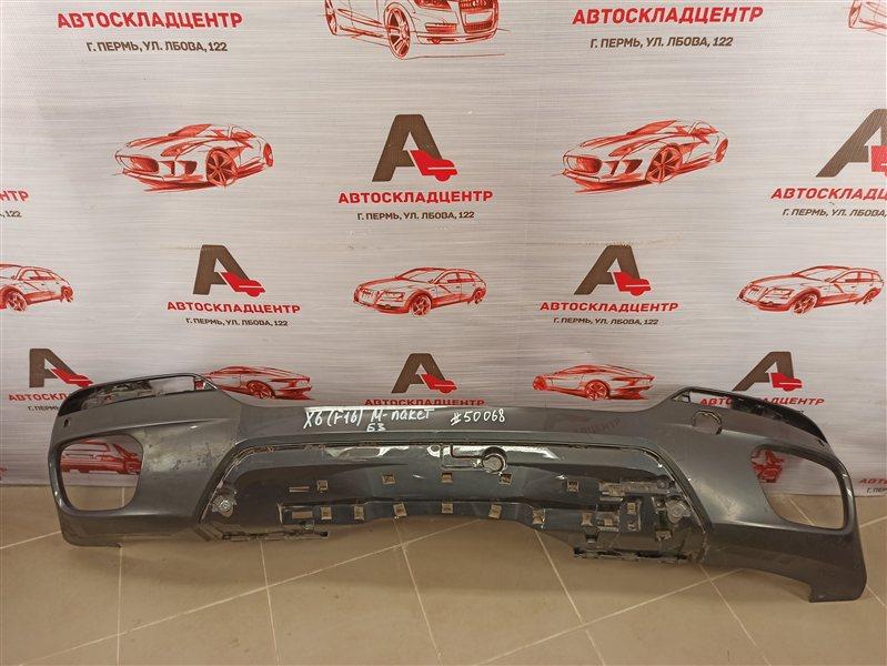 Бампер задний Bmw X6-Series (F16) 2014-2019 нижний