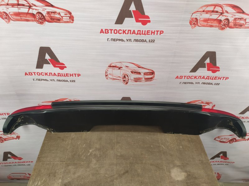 Спойлер (накладка) бампера заднего Honda Accord 9 (2013-2015)