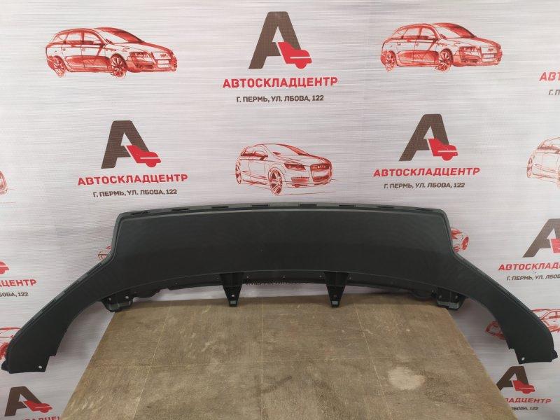 Спойлер (юбка) бампера переднего Volkswagen Jetta (Mk6) 2010-2019 2015