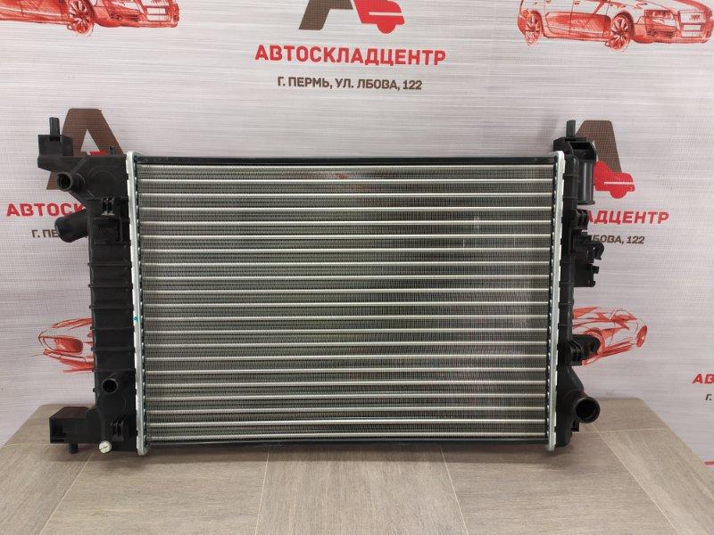 Радиатор охлаждения двигателя Chevrolet Aveo 2012-2015 1.2-1.5 (1200CC / 1400CC / 1500CC) L2C / A12XER / A14XER