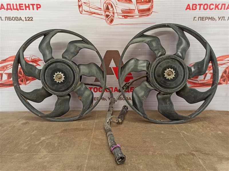 Вентилятор радиатора охлаждения - крыльчатка с мотором Geely Emgrand Ec7 2009-Н.в.
