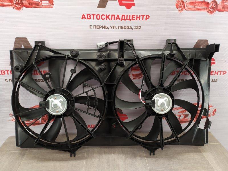 Диффузор радиатора охлаждения - в сборе Toyota Camry (Xv50) 2011-2017