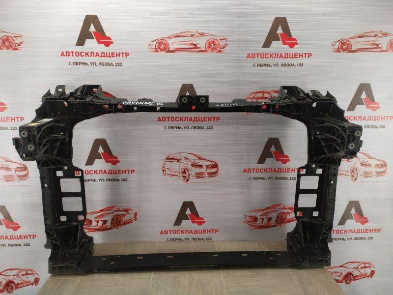 Панель передка (телевизор) - рамка радиатора Porsche Cayenne (2017-Н.в.)