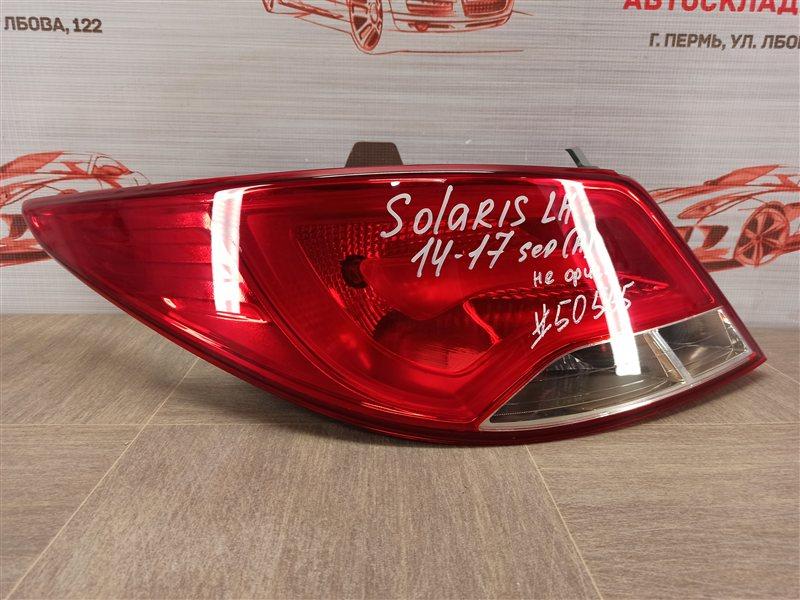 Фонарь левый Hyundai Solaris (2010-2017) 2014