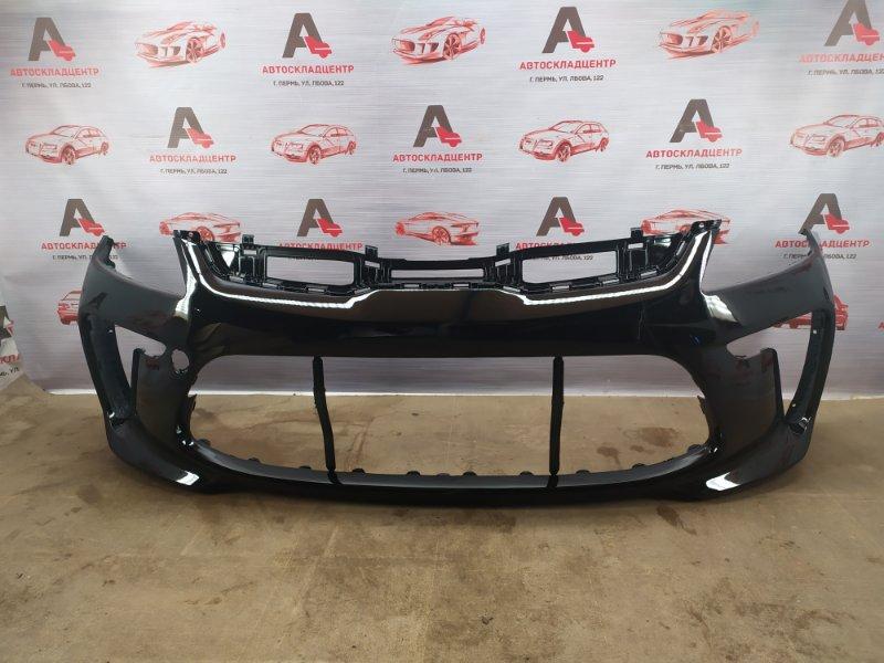Бампер передний (окрашенный) Kia Rio (2017-Н.в.)