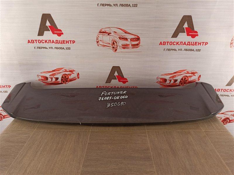 Спойлер-антикрыло двери/крышки багажника Toyota Fortuner (An160) 2015-Н.в.