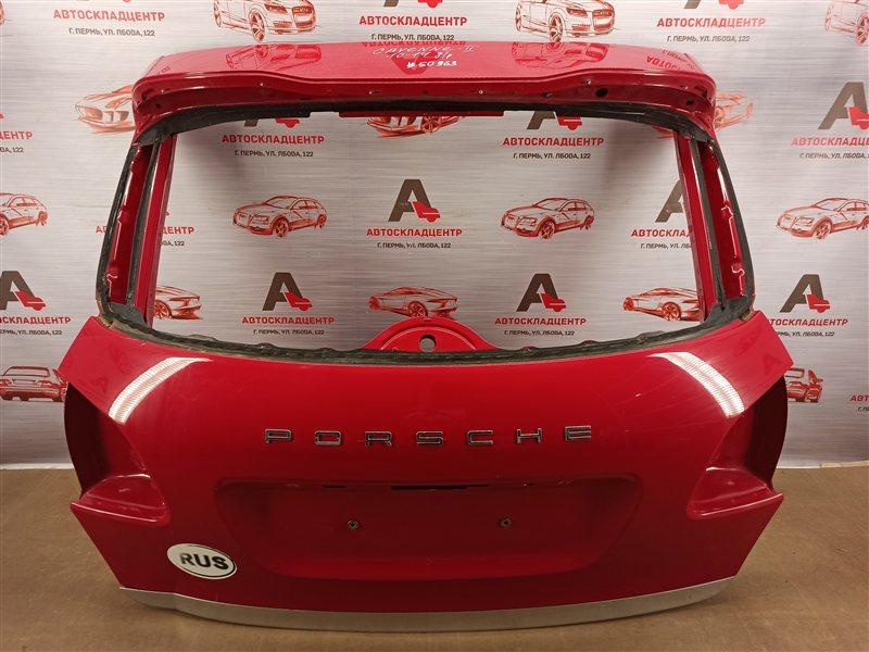 Дверь багажника Porsche Cayenne (2010-2018) 2010