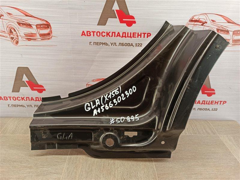 Кузов - порог (обрезок) Mercedes Gla-Klasse (W156) 2013-2020 задний левый