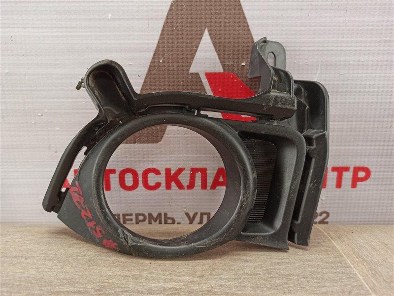 Накладка противотуманной фары / ходового огня Toyota Highlander (Xu50) 2013-Н.в. 2013 правая