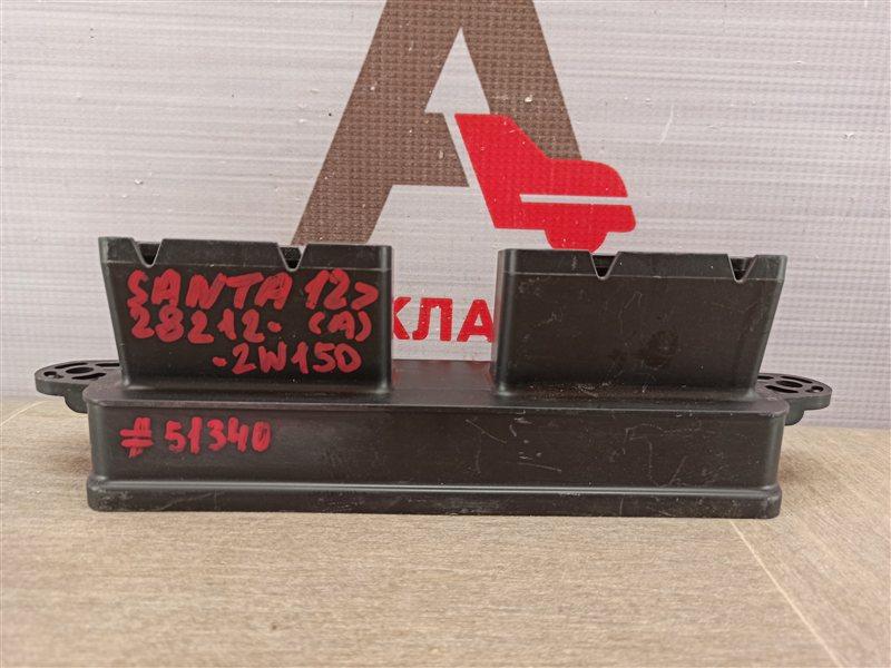 Воздухозаборник - патрубок системы впуска воздуха Hyundai Santa-Fe (2018-Н.в.)