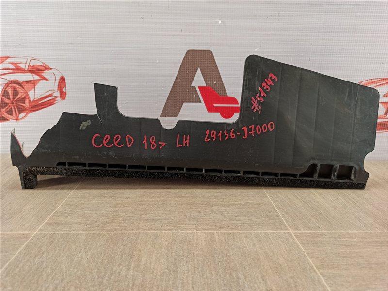 Дефлектор воздушного потока основного радиатора Kia Ceed (2018 - Н.в.) левый